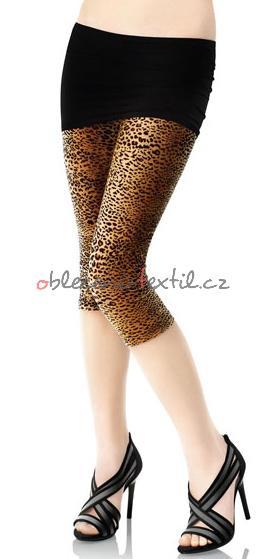 Dámské leopardí legíny Marilyn mar35 - oblečení textil 565e428863