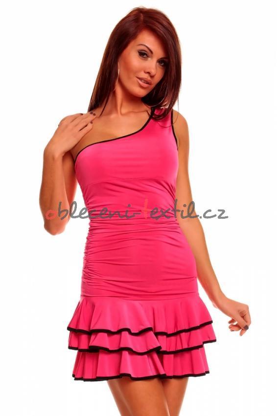 Letní dámské šaty Queen o.f. Hs-sa063pi - oblečení textil 30d1ac4752