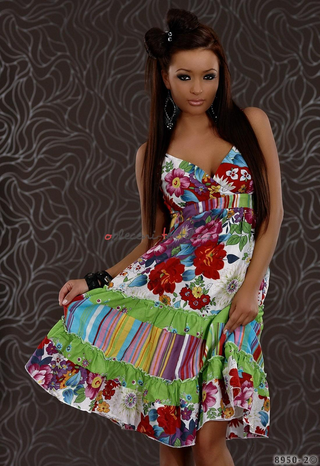 Dámské letní šaty Queen o.. Q-8950 - oblečení textil 87bf40649e