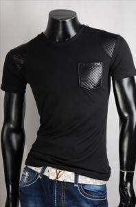 Pánské černé triko Belman p-tr28bl