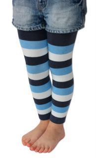 Punčochové legíny Design Socks - proužek - více barev