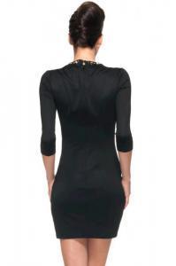 Dámské černé šaty Damson d-sat334