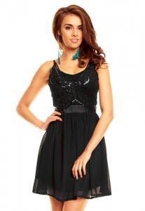 Dámské šaty Emamoda hs-sa435bl