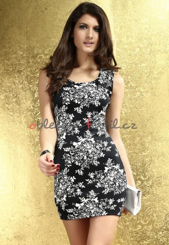 Dámské šaty na léto Damson d-sat221bl - oblečení textil 1a835bd029