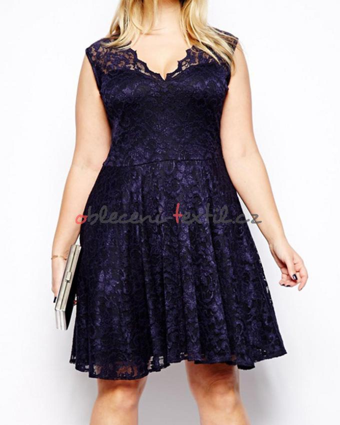 Dámské šaty pro plnoštíhlé Damson d-sat314 - oblečení textil ac4f50bda2