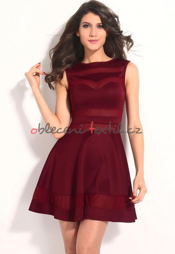 0e519b95f1c Dámské šaty Damson d-sat273vi - oblečení textil