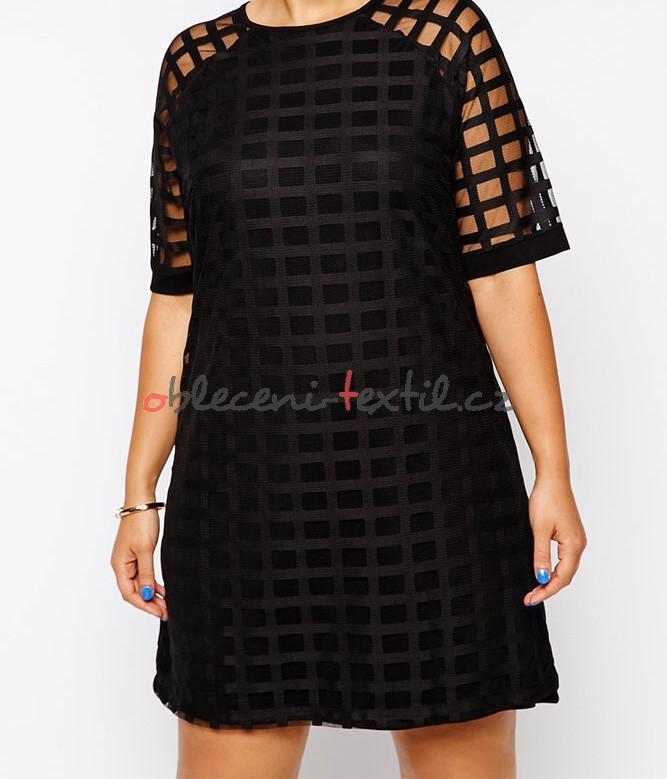 Dámské šaty pro plnoštíhlé Damson d-sat402 - oblečení textil acd7ee0c16