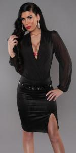 Dámská černá sukně Koucla in-su15bl