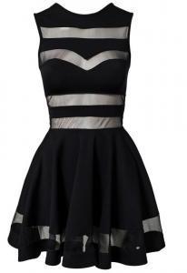 Dámské šaty Damson d-sat273bl