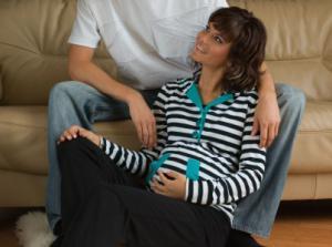 Těhotenská mikina PRATA