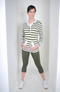 Těhotenské legíny BELLA2
