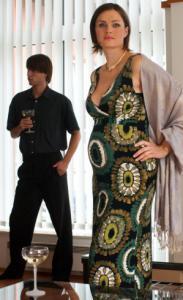 Těhotenské šaty GLANC