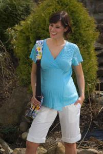 Těhotenské tričko BODRUM