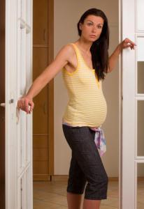 Těhotenský nátělník LEJLA 1