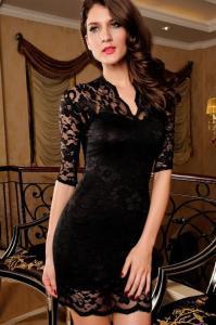 Dámské šaty Damson d-sat032bl