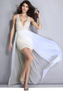 Dámské šaty Damson d-sat442wh